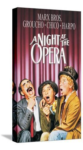 A Night At The Opera, 1935--Stretched Canvas Print