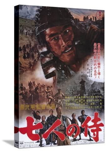 Seven Samurai, 1954--Stretched Canvas Print