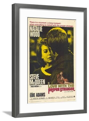 Love With the Proper Stranger, 1964--Framed Art Print