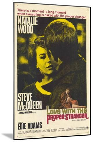 Love With the Proper Stranger, 1964--Mounted Art Print