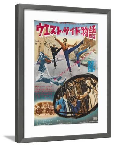 West Side Story, Japanese Movie Poster, 1961--Framed Art Print