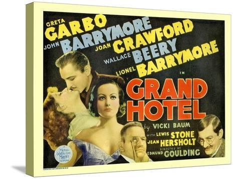 Grand Hotel, 1932--Stretched Canvas Print