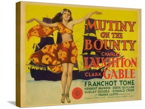 Mutiny on the Bounty, 1935--Stretched Canvas Print