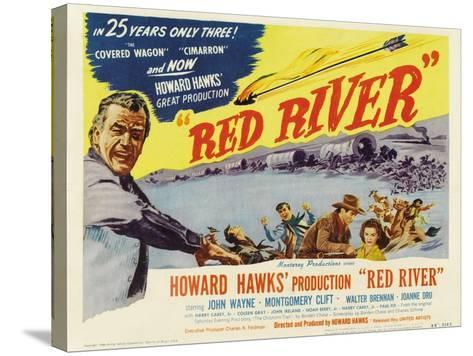 Red River, 1948--Stretched Canvas Print