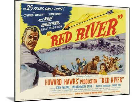 Red River, 1948--Mounted Art Print