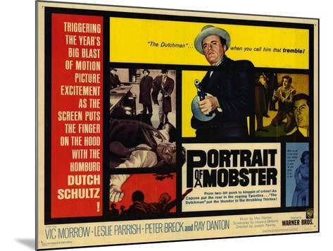 Portrait of a Mobster, 1961--Mounted Art Print