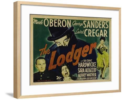 The Lodger, 1944--Framed Art Print