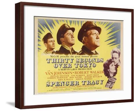 Thirty Seconds Over Tokyo, 1944--Framed Art Print