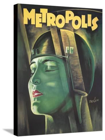 Metropolis, 1926--Stretched Canvas Print