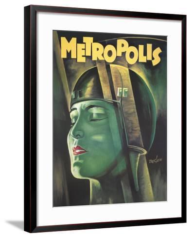 Metropolis, 1926--Framed Art Print
