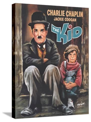 The Kid, 1921--Stretched Canvas Print