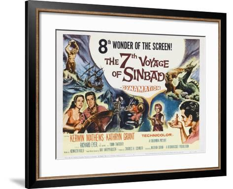 The 7th Voyage of Sinbad, 1958--Framed Art Print