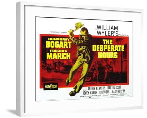 The Desperate Hours, 1955--Framed Art Print