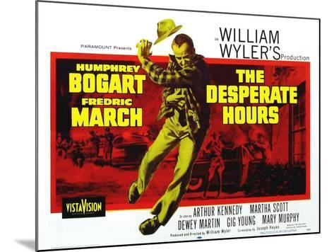 The Desperate Hours, 1955--Mounted Art Print