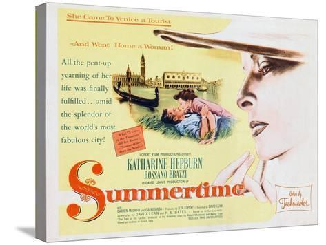 Summertime, 1955--Stretched Canvas Print