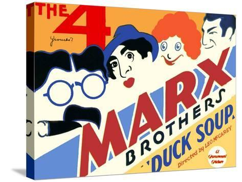 Duck Soup, 1933--Stretched Canvas Print