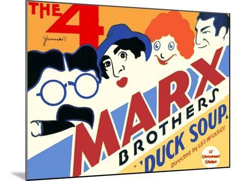 Duck Soup, 1933--Mounted Art Print