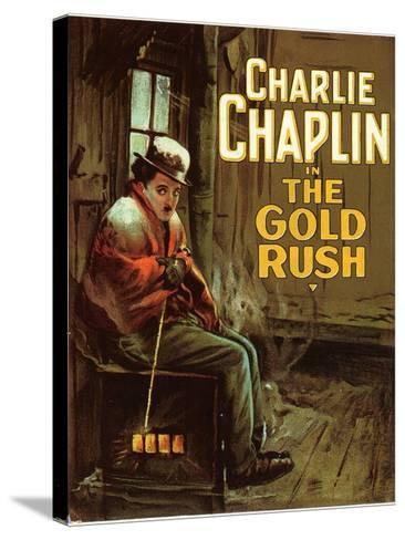 The Gold Rush, 1925--Stretched Canvas Print