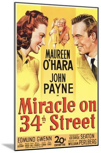 Miracle On 34th Street, 1947--Mounted Art Print