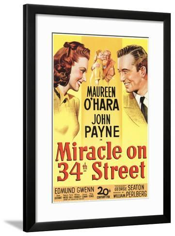Miracle On 34th Street, 1947--Framed Art Print