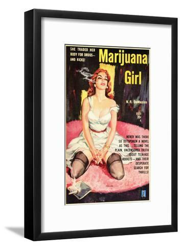 Marijuana Girl, 1969--Framed Art Print
