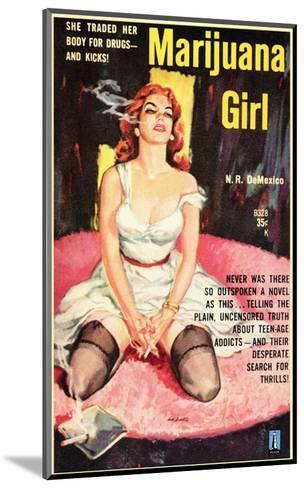 Marijuana Girl, 1969--Mounted Art Print