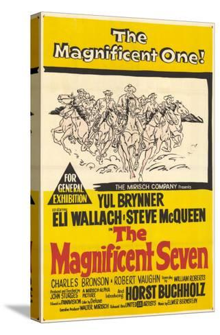 The Magnificent Seven, 1960--Stretched Canvas Print