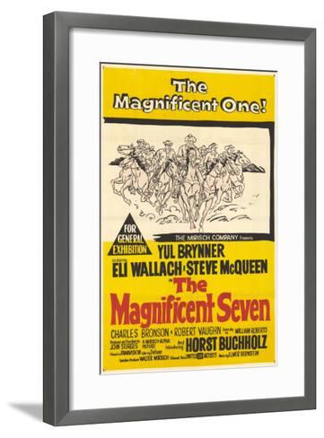 The Magnificent Seven, 1960--Framed Art Print