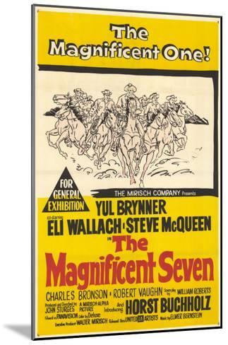 The Magnificent Seven, 1960--Mounted Art Print