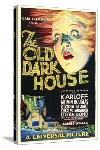 The Old Dark House--Stretched Canvas Print
