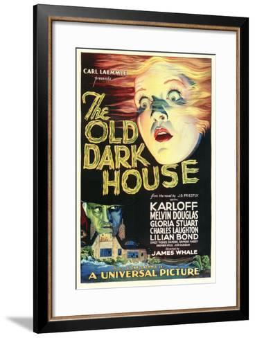 The Old Dark House--Framed Art Print