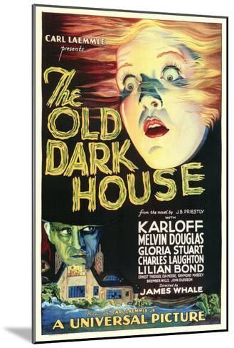 The Old Dark House--Mounted Art Print