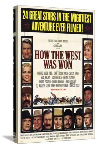 How the West Was Won, 1964--Stretched Canvas Print