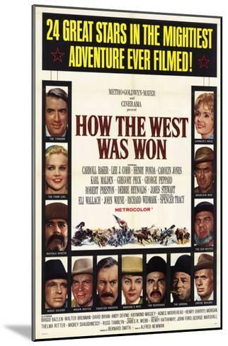 How the West Was Won, 1964--Mounted Art Print