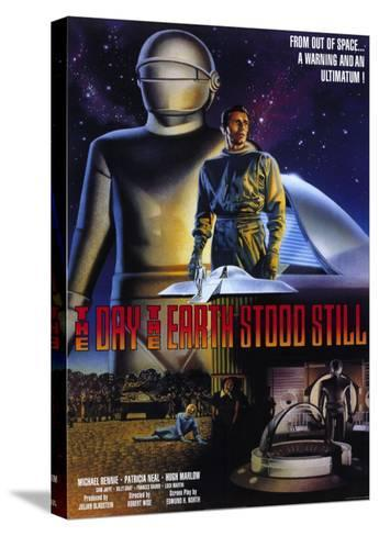 The Day The Earth Stood Still, 1951--Stretched Canvas Print