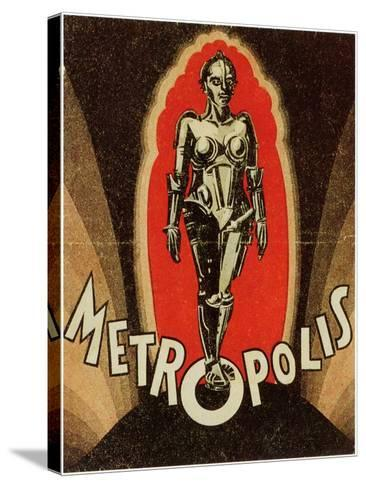 Metropolis, 1926--Stretched Canvas Print