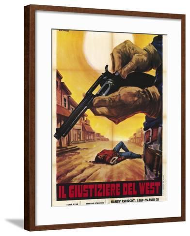 Sagebrush Trail, Italian Movie Poster, 1940--Framed Art Print