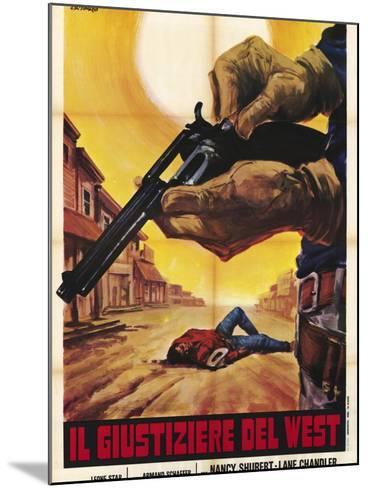 Sagebrush Trail, Italian Movie Poster, 1940--Mounted Art Print
