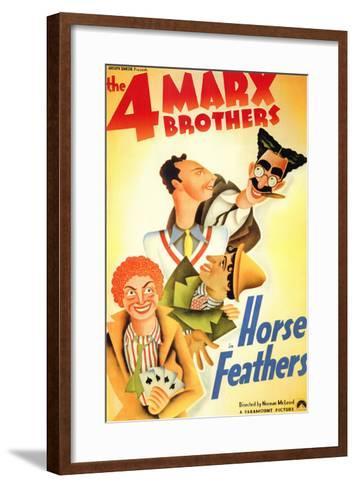 Horse Feathers, 1932--Framed Art Print