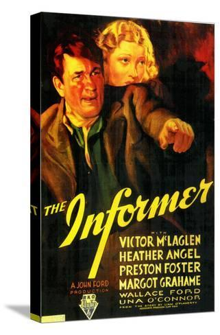 The Informer, 1935--Stretched Canvas Print