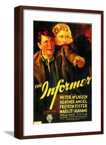 The Informer, 1935--Framed Art Print