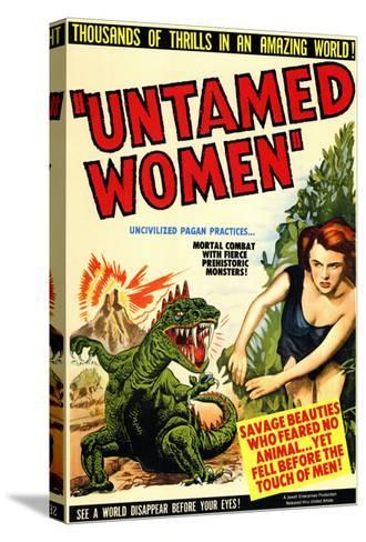 Untamed Women, 1952--Stretched Canvas Print