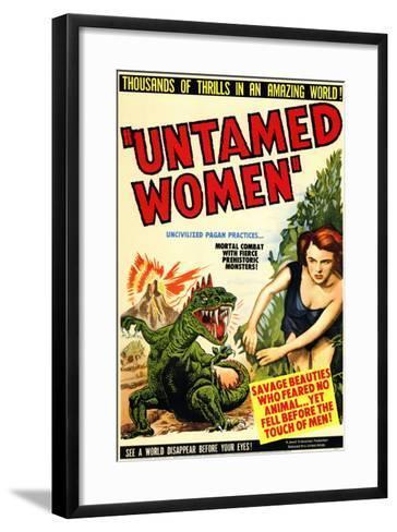 Untamed Women, 1952--Framed Art Print