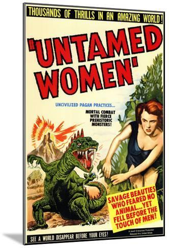 Untamed Women, 1952--Mounted Art Print