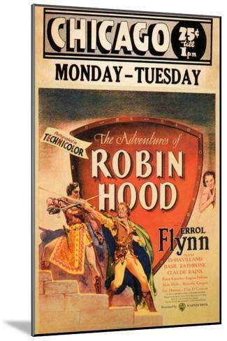 The Adventures of Robin Hood, 1938--Mounted Art Print