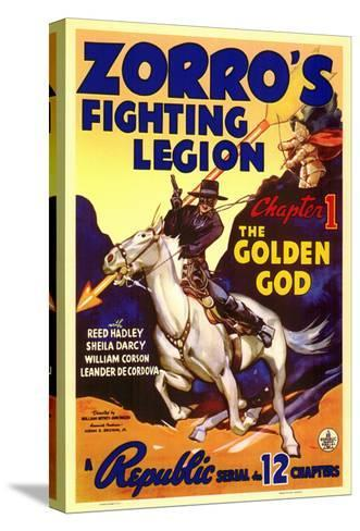 Zorro's Fighting Legion, 1939--Stretched Canvas Print
