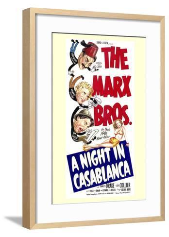 Night in Casablanca, 1946--Framed Art Print