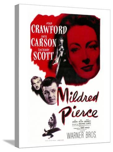 Mildred Pierce, 1945--Stretched Canvas Print