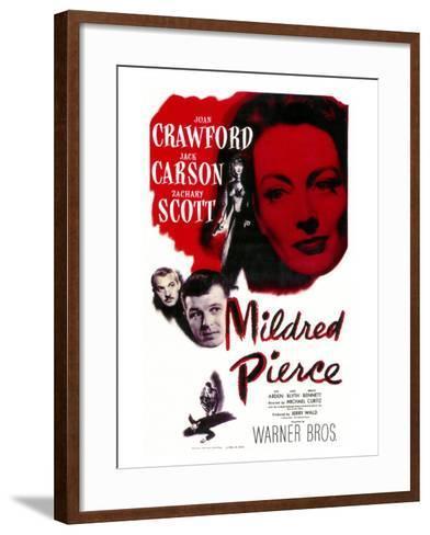 Mildred Pierce, 1945--Framed Art Print
