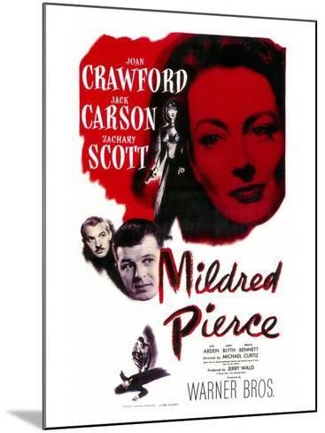 Mildred Pierce, 1945--Mounted Art Print